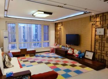 SR国际新城二期3室2厅2卫165㎡精装好楼层无税学区地铁