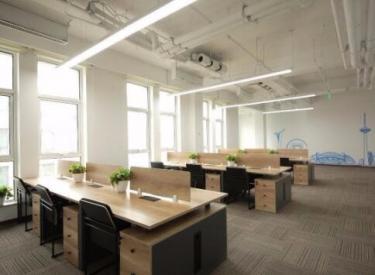 (出租)金谷科技园独栋整层可分割精装写字间(桌椅、物业、采暖免费