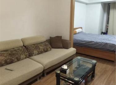 金地滨河国际 1室 2厅 1卫 54㎡ 半年付 精装修