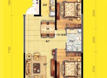 AA坐拥丁香湖 紧邻地铁十号线 美的城小面积住宅 标准户型