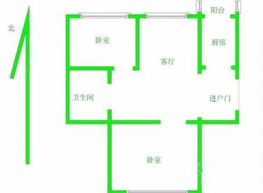 望花新村 2室 1厅 1卫 81.63㎡