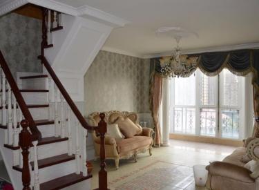 九洲御府 4室 洋房顶楼带阁楼 送50平露台 园区中心