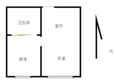 美好愿景精装一室新装修的家电齐全拎包入住看房方便