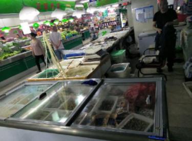 (出售)保利心语农贸市场海鲜摊位整体出兑