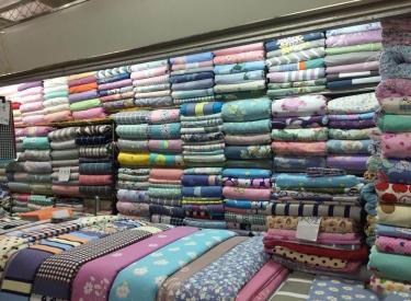 (出售)五爱床品布艺增值盈利好位置档口出售