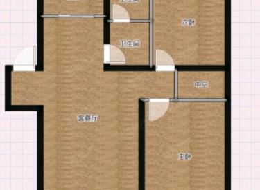 塞纳家园二期 2室 2厅 1卫 98㎡ 半年付