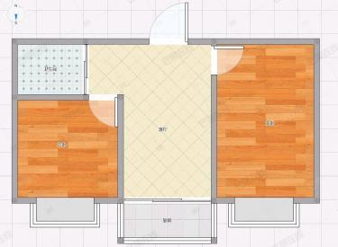 医学院地铁口 精装修 一室两厅一卫 拎包即住
