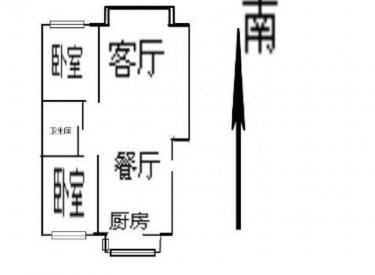 整租·春满家园 1室1厅 南/北