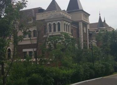 棋盘山首付十万住别墅 国王湖高端别墅,城堡式建筑风格,现房