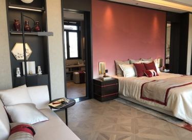 首创禧瑞长河 新中国风合院联排 镜幕别墅 相当好的位置