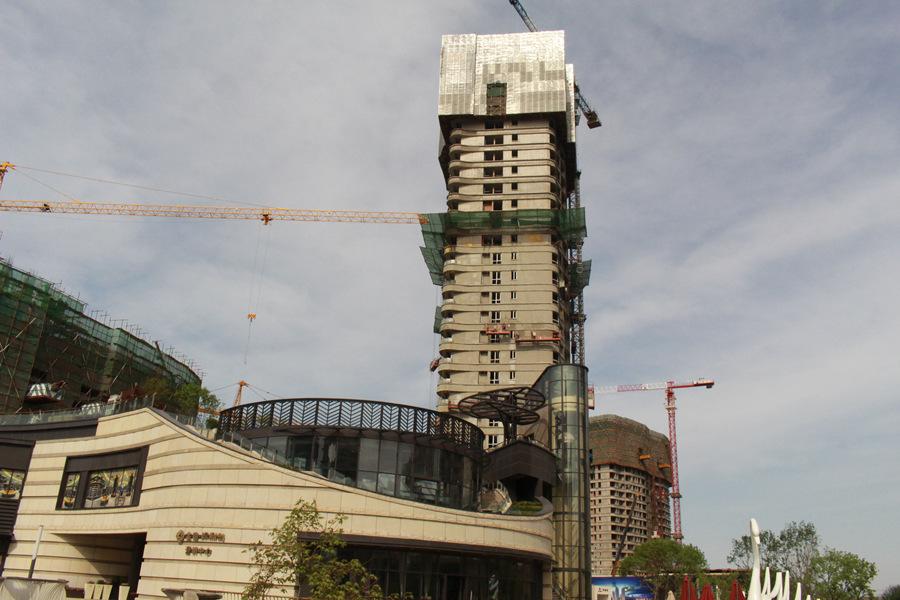 金地棕榈岛在建楼栋