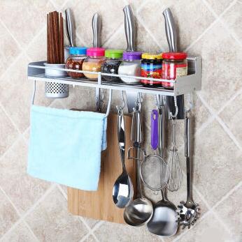 厨房不锈钢置物挂架