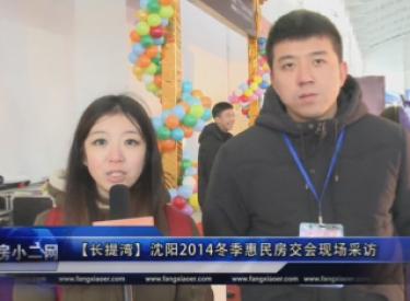 【长提湾】沈阳2014冬季惠民房交会现场采访