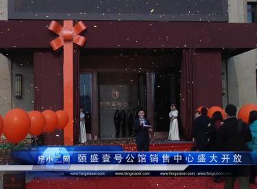 颐盛壹号公馆销售中心盛大开放