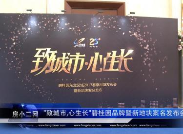 """""""致城市 心生长""""碧桂园东北品牌发布会盛大启幕"""