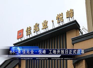 佳兆业·悦峰工地开放日正式启幕