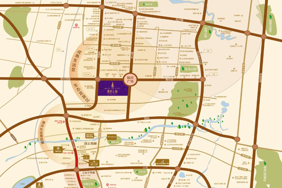 杭州市上城区地图全图