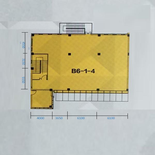 B6-1-4门 570.75平