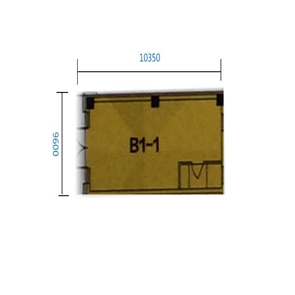 B1-1门 41.27平