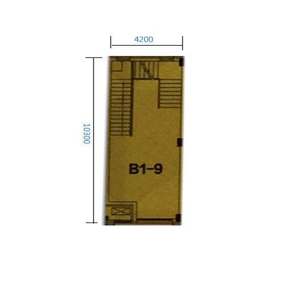 B1-9门 92.5平