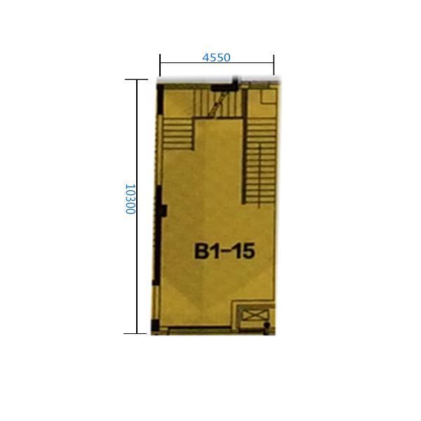 B1-15门 100.37平