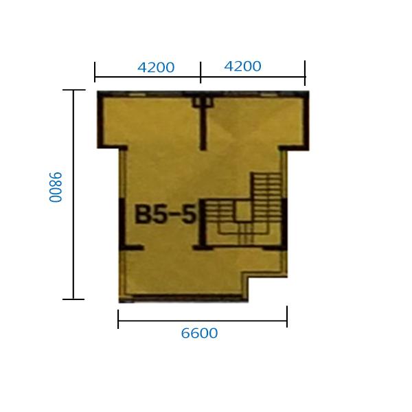 B5-5门 151.66平