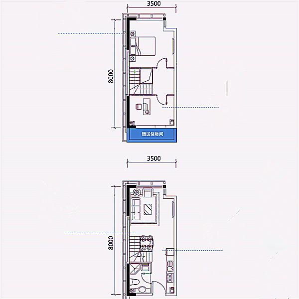 公寓34平2室2厅1卫