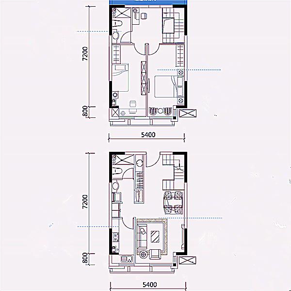 公寓57平3室2厅2卫