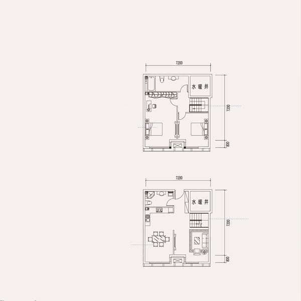 公寓3室2厅2卫
