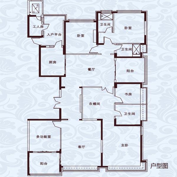 307㎡6室2厅3卫