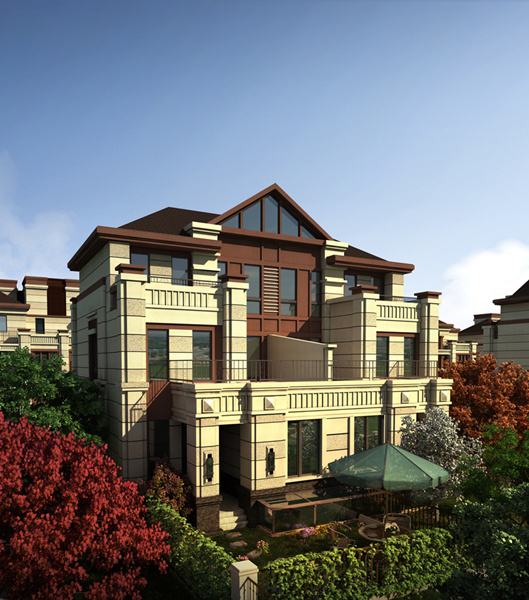 三盛颐景御园项目由南向北规划建设55万平别墅,洋房,高层三大产品系