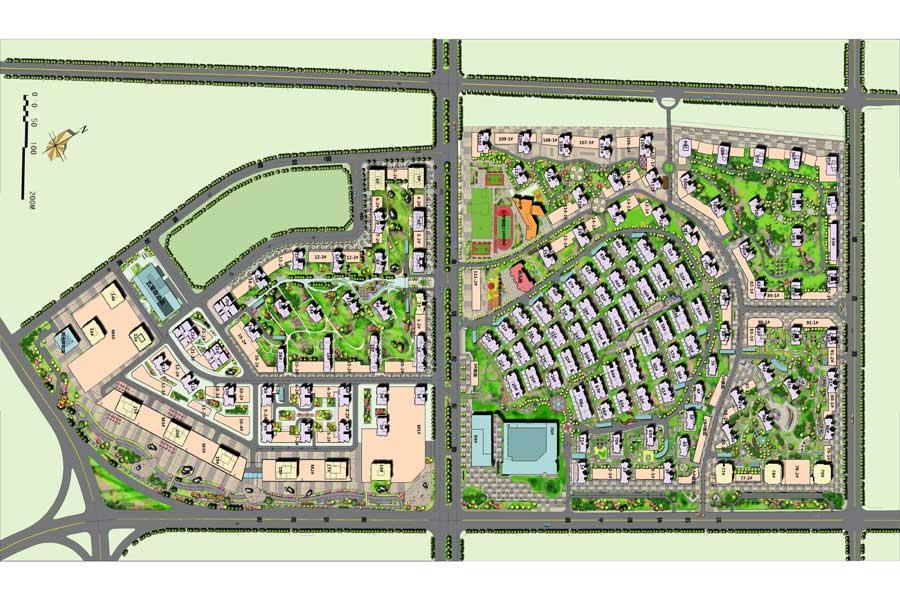 奥园·国际城落位图1