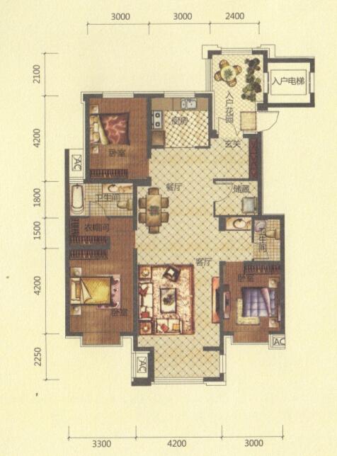 北方小二楼设计平面图
