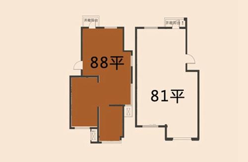 金沙美丽岛    所在楼栋:1#,2#,3#,4#    面积:58㎡      户型优势