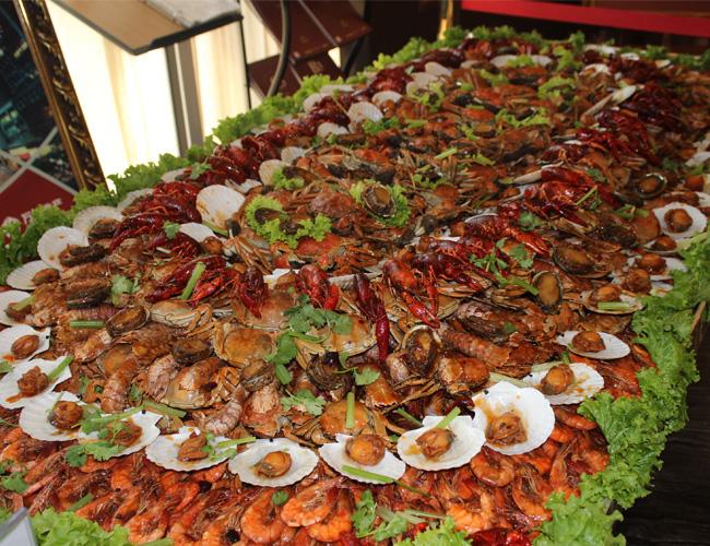 万锦盛邀全城,赴约海鲜盛宴!