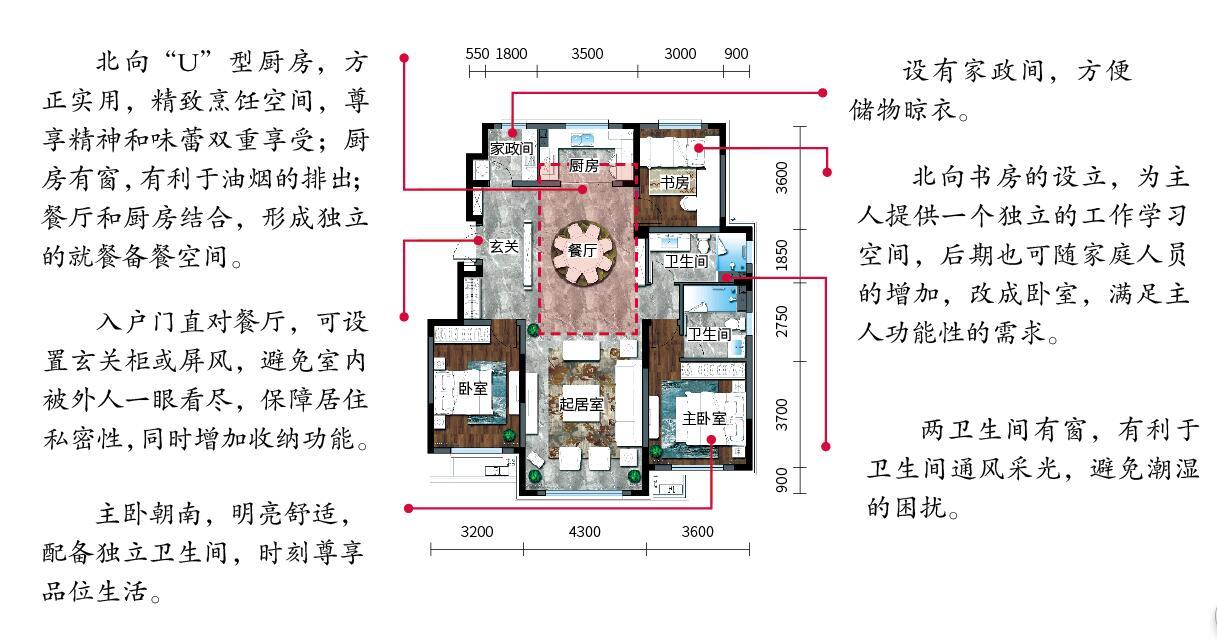 6米进深二层楼设计图