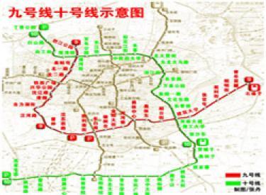 沈阳地铁9号线6月开始铺轨