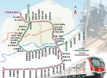 沈阳地铁九、十号线首次公布开通时间表