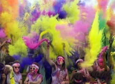 The Color Run沈阳站 精彩绝伦 妙趣横生 首创带你跑出彩