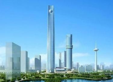 308米 宝能环球金融中心T2塔楼封顶
