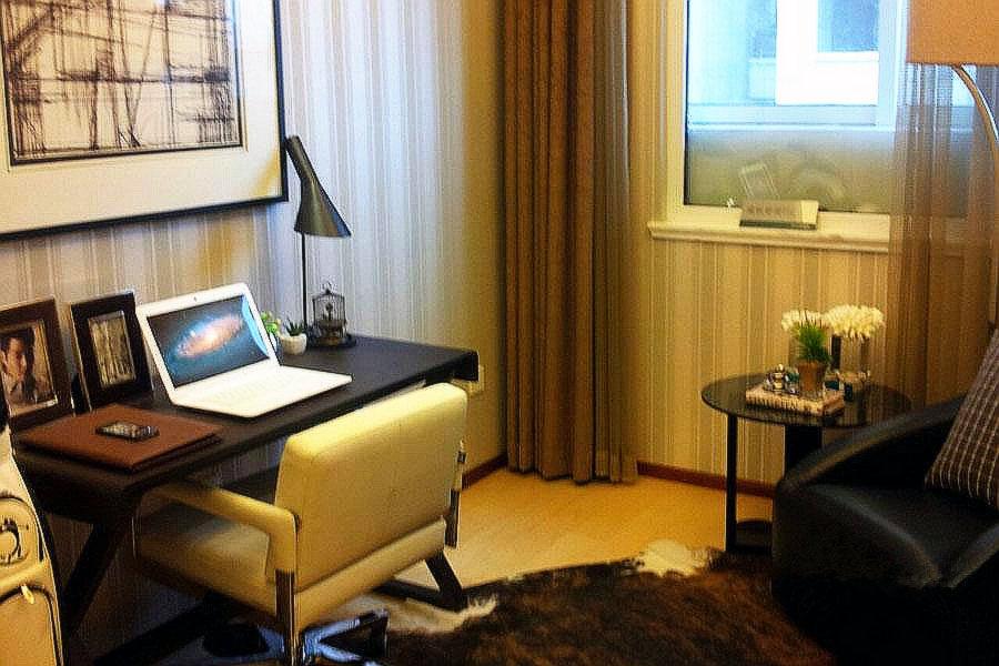 88平两室两厅一卫创意间