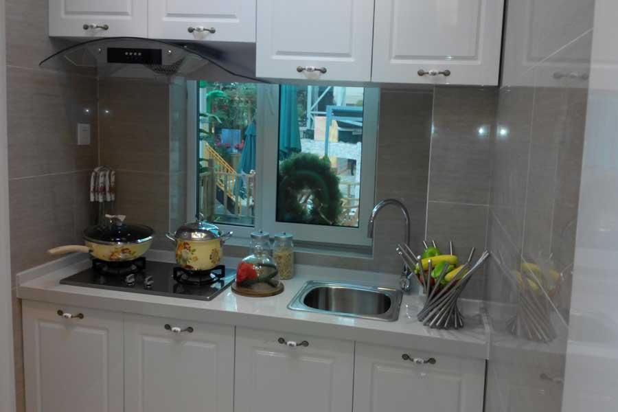 76平两室两厅一卫厨房