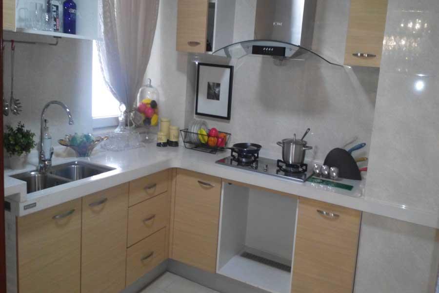 84平两室两厅一卫厨房