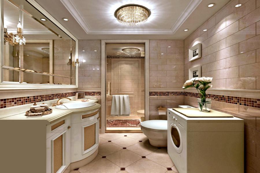 高层88平两室两厅一卫卫生间