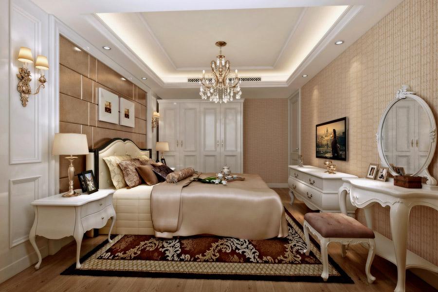 高层88平两室两厅一卫卧室