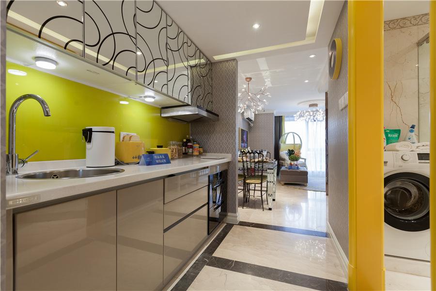 loft二室二厅一卫厨房