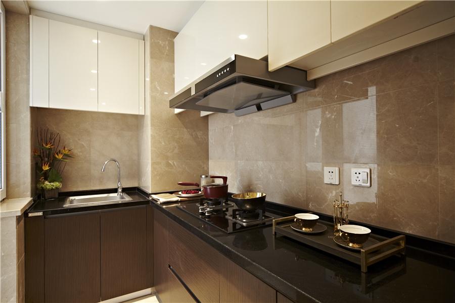 72平二室二厅一卫厨房