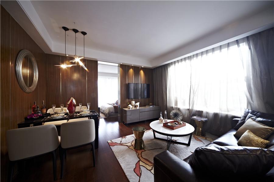 72平二室二厅一卫客厅