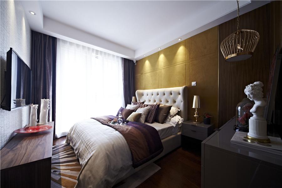 72平二室二厅一卫卧室