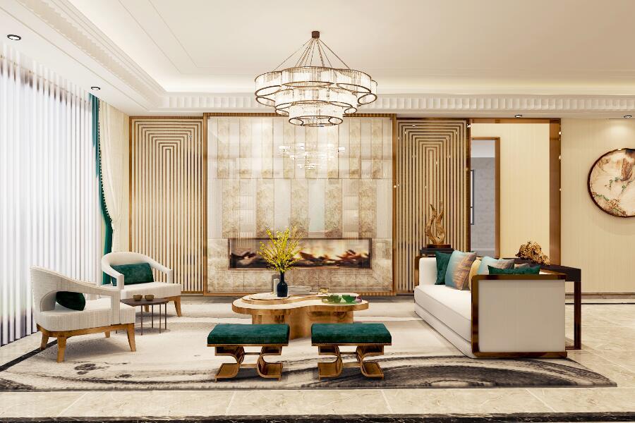 130平客厅